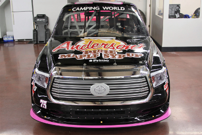 Henderson Motorsports #75 Camping World Truck Series truck for 2017