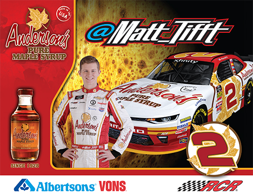 Anderson's Maple Syrup hero card.