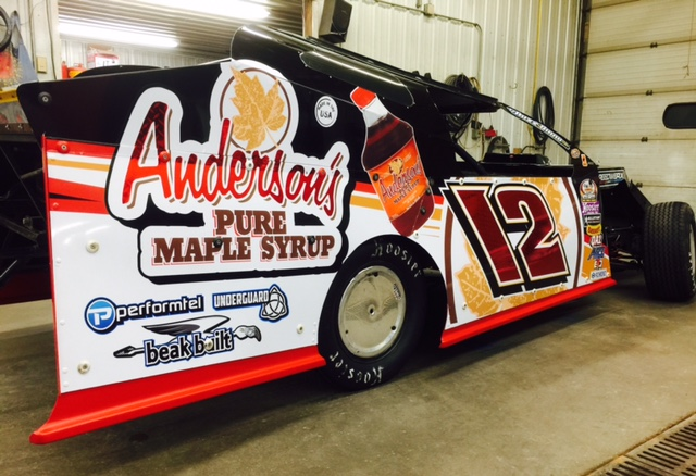 GR Motorsports / Andersons Maple Syrup / Jason Gross car.