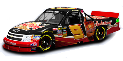 Anderson's Maple Syrup NTS #9 Chevy Silverado driven by Ron Hornaday.