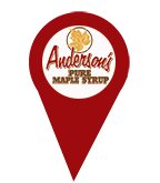 Anderson's Maple Syrup Store Locator.